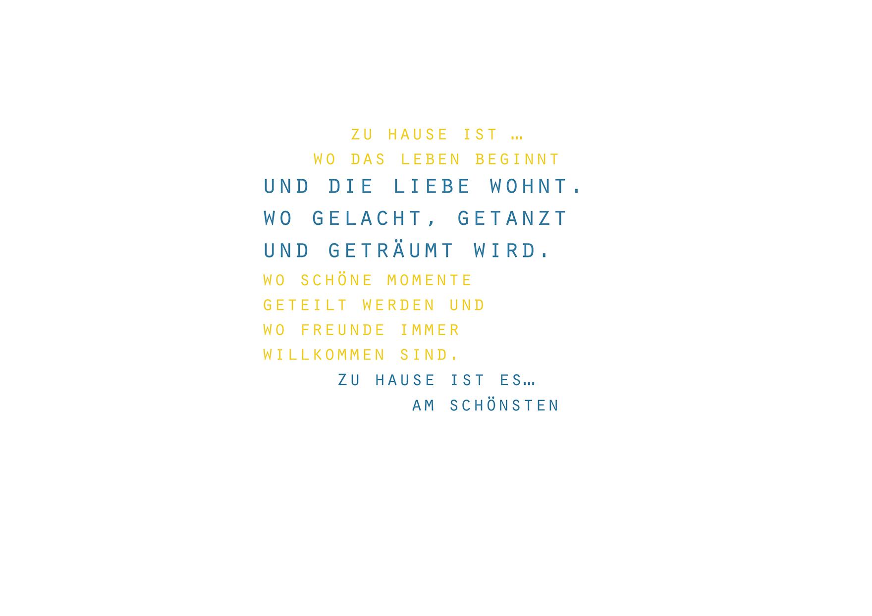 zu hause ist_din a4_kunstdruck_plakat