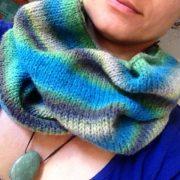 handmade schal loop alpaca wolle