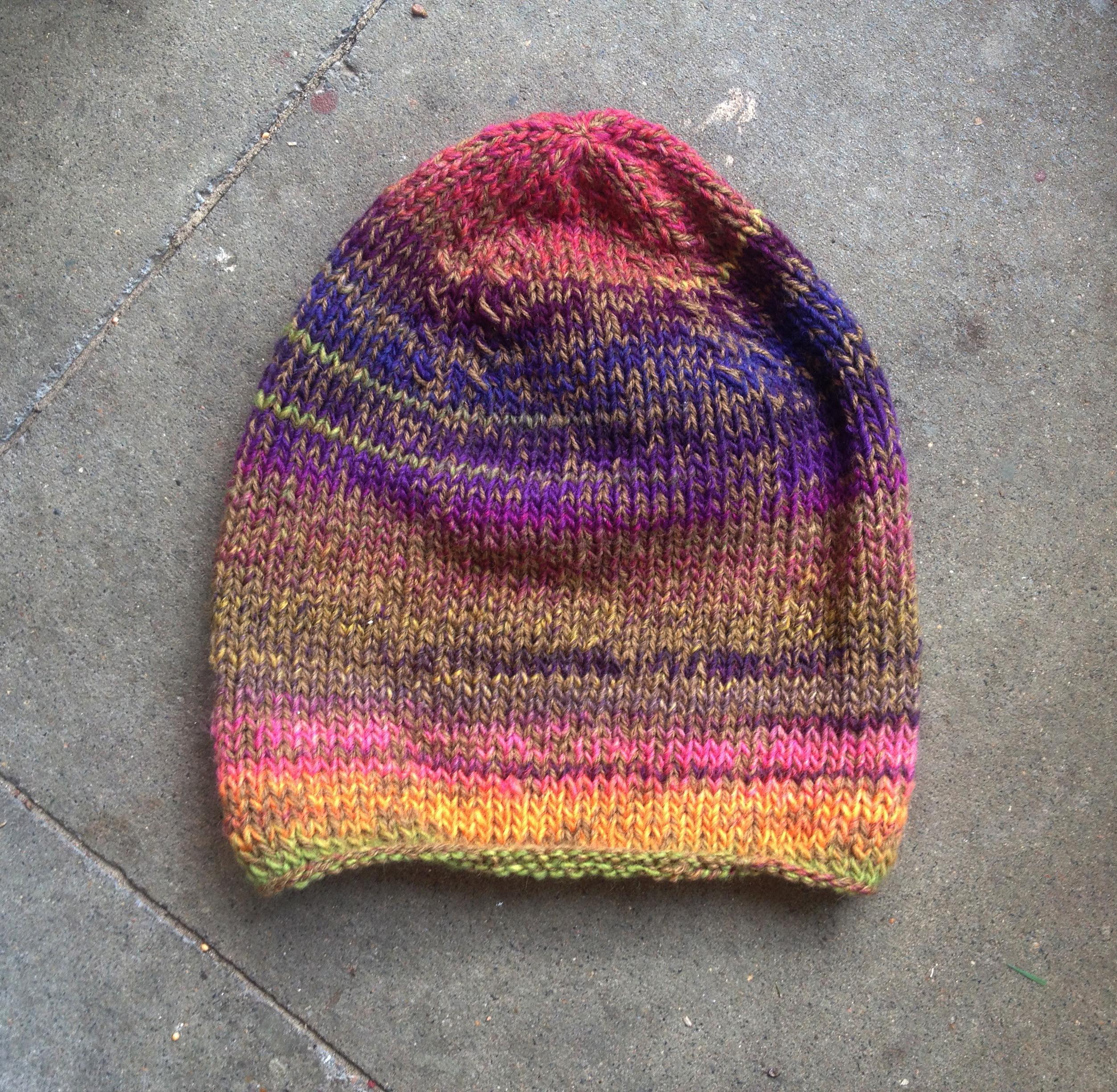 Natur Herbst Winter Schurwolle Mütze Fair Öko Wollmütze Rainbow Multicolor Hippie Gipsy_3