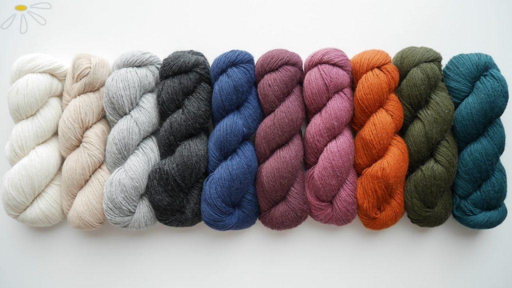 reine Alpakawolle 100% Naturwolle